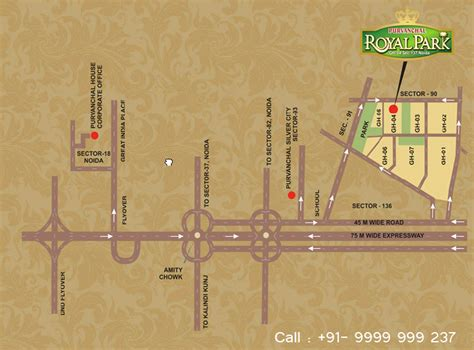 royal location royal park location purvanchal royal park on rediff pages
