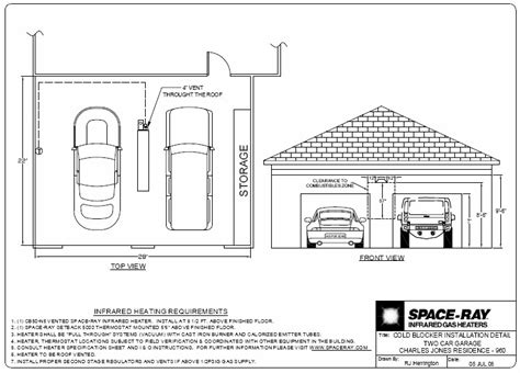 garage layouts design typical layouts