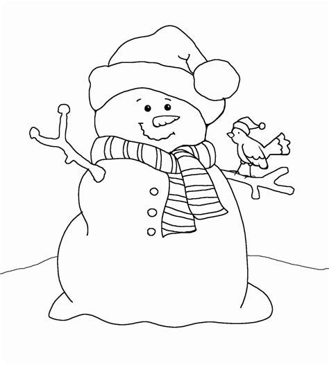 snowman coloring sheet printable fresh snowman coloring sheet printable gallery