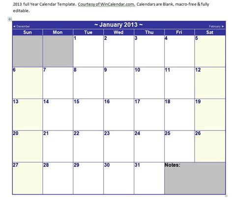 calendar template for word microsoft word calendar template 2013 microsoft word