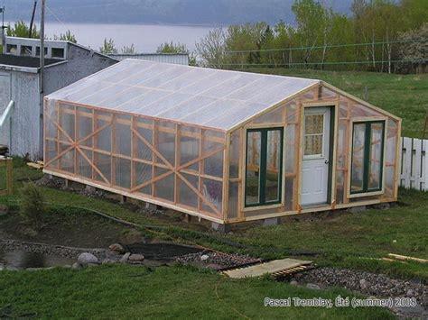 faire une serre de jardin comment construire une serre de jardin s 233 lection de diy