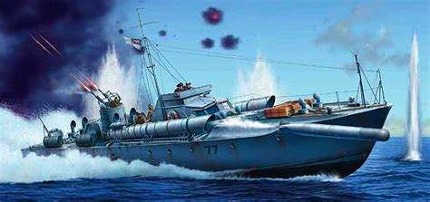 pt boat action reports ahoy there giant 1 35 scale vosper motor torpedo boat