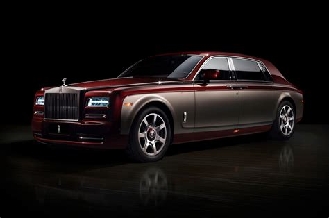 gold phantom car top 12 coolest rolls royce special editions motor trend