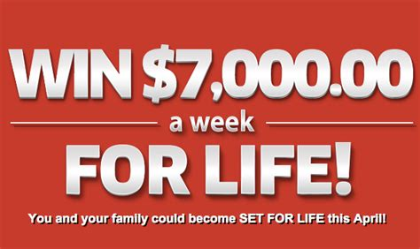 win 7 000 cash a week for life on pch sweepstakes no 6900 contestbank - Win For Life Sweepstakes