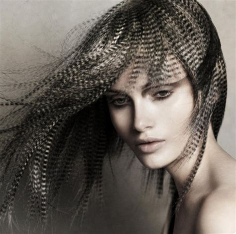 feathered hair hair trends feather hair extensions in fashion chicago