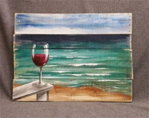 ocean beach red house painters best 25 wine painting ideas on pinterest