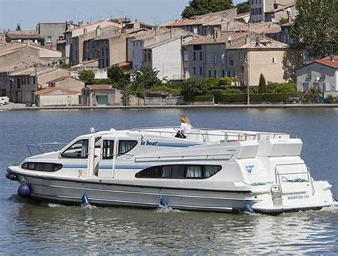 le boat france turn heads with a le boat magnifique hire boat in france