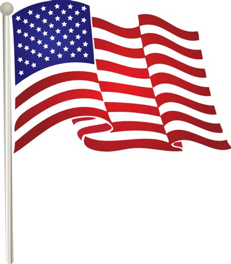 american flag clipart usflag clip at clker vector clip