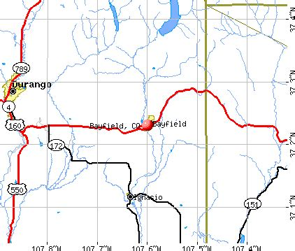 map of bayfield colorado bayfield colorado co 81122 profile population maps
