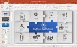 animated power point templates animated human resources powerpoint template