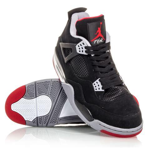 basketball shoes retro air 4 retro mens basketball shoes black cement
