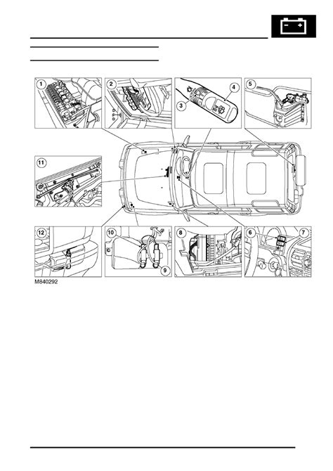 workshop layout and location land rover workshop manuals gt discovery ii gt wipers and
