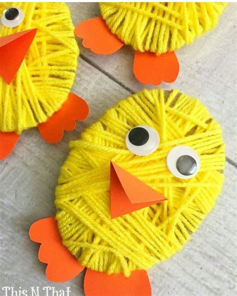 crafts with yarn for yarn craft for craft for preschoolers