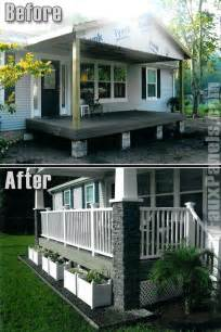 mobile home porches 9 beautiful manufactured home porch ideas