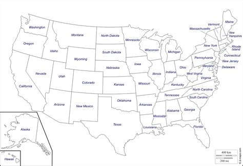 map of the usa with abbreviations map of usa with abbreviations map of usa