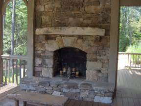 stacked fireplace for the home