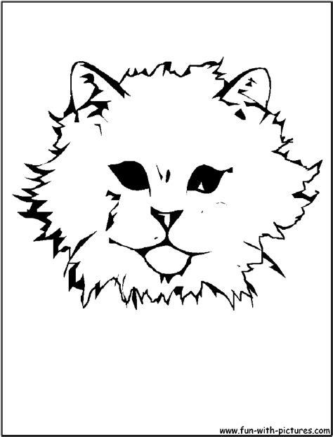 cheshire cat face coloring page