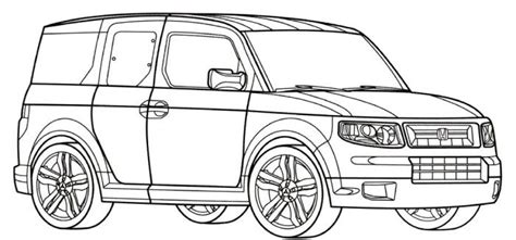 coloring pages honda cars honda odyssey coloring pages coloring pages