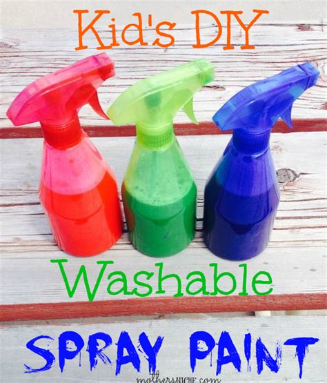 spray paint and craft diy washable spray paint for giveaway