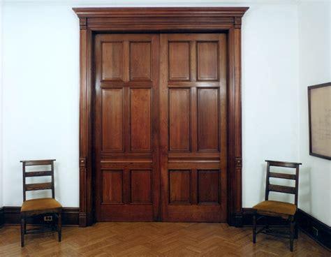 Wooden Pocket Doors Custom Wood Interior Pocket Doors 19th Century Home