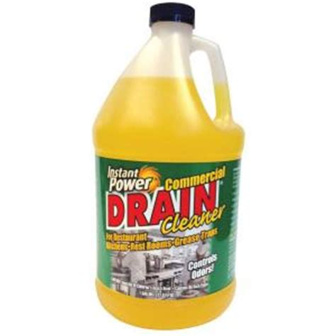 Plumbing Chemicals by Instant Power Commercial Drain Cleaner 1510 The Home Depot