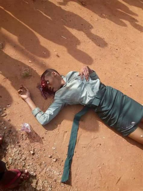 naija school girls secondary school girl in anambra crushed by a bus on her