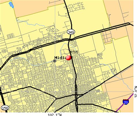 midland texas map 79705 zip code midland texas profile homes apartments schools population income