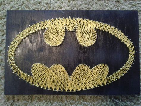 String Batman - batman string by emily berganza craft ideas