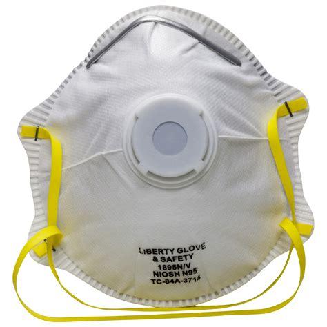 Masker N95 n95 valved respirator niosh n95 respirator dust mask