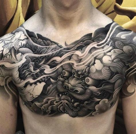 tattoo japanese on chest 80 ridiculously cool tattoos for men chest piece