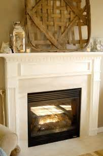 white fireplace mantel makeover living rich on