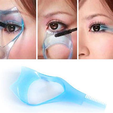 Mascara Eyeshadow aliexpress buy 3 in 1 mascara eyelash card protector