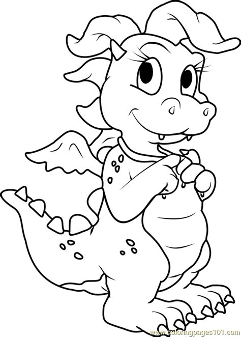coloring pages dragon tales dragon tales cassie pink dragon coloring page free