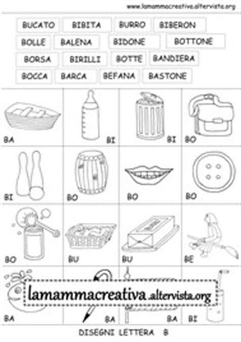crea parole con lettere italiano prescrittura e pregrafismo lettera b lamammacreativa