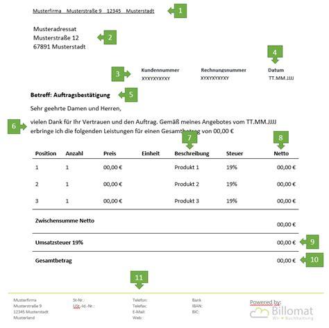 Bestätigung Schreiben Muster Kostenlos Auftragsbest 228 Tigung F 252 R Freiberufler Vorlage Muster