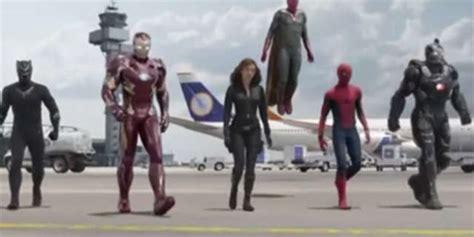 spider man footage captain america civil war