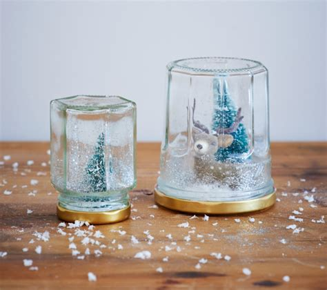 Handmade Snow Globe - how to make your own snow globe etsy uk