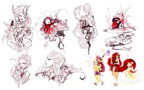 Draw Till You Bleed By Nanomortis On Deviantart