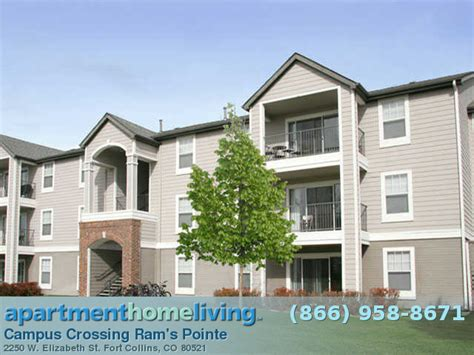 Appartments In Fort Collins by Cus Crossing Ram S Pointe Apartments Fort Collins