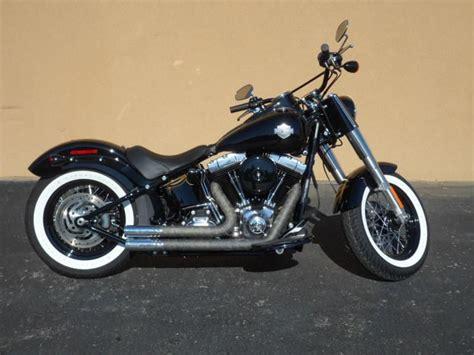 Harley Davidson Fls by 2013 Harley Davidson Fls Softail Slim Cruiser For Sale