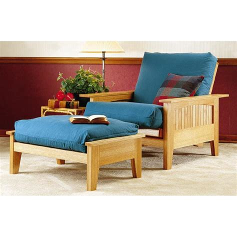 futon chair and ottoman futon chair and ottoman woodworking plan from wood magazine