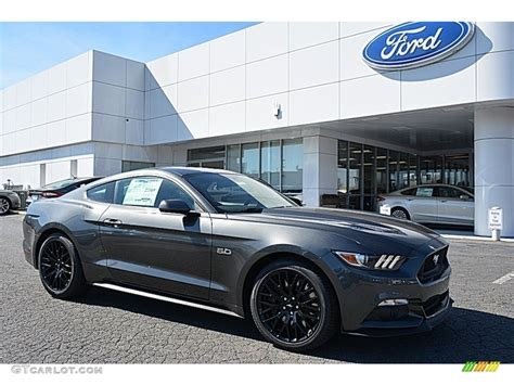 mustang gt colors 2017 2017 magnetic ford mustang gt coupe 118807988 gtcarlot