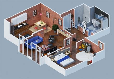 Design House Decor Facebook by 23 Planos 3d De Apartamentos Realmente Impresionantes