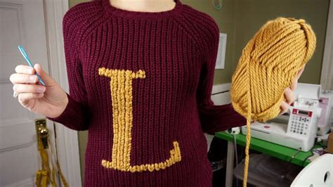 how to knit a weasley sweater turn a muggle sweater into a weasley sweater