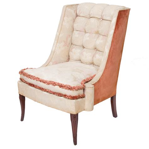 1930 s custom vintage shabby chic wing chairs 187 northgate gallery antiques