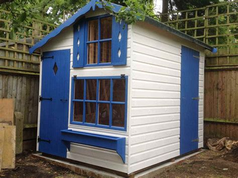 Playhouse Shed by Combined Playhouse Shed Mb Garden Building