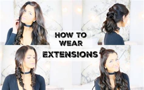 how to wear extension for bobcut how to wear extensions for 5 different hairstyles luxy hair