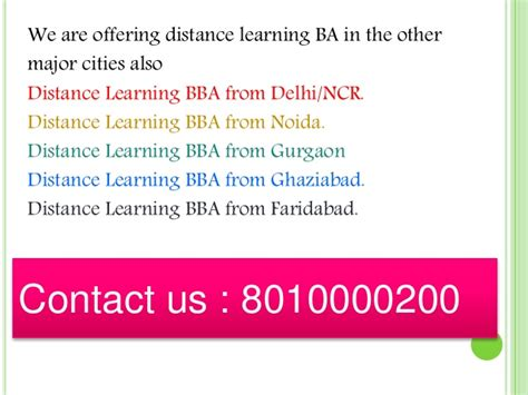 Mba In Gurgaon Distance Education by 8010000200 Distance Learning Ba Philosophy In Gurgaon