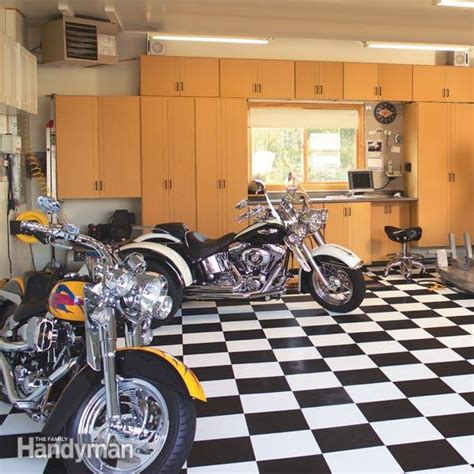 Motorrad Duplex Garage by A Dream Motorcycle Workshop The Family Handyman