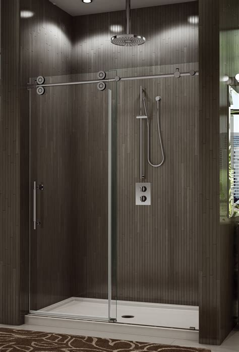 Kinetic Shower Door Shower Enclosures Sliding Shower Doors
